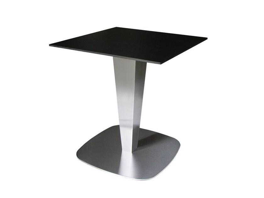 Stainless steel contract table RONDOPOT by Vela Arredamenti