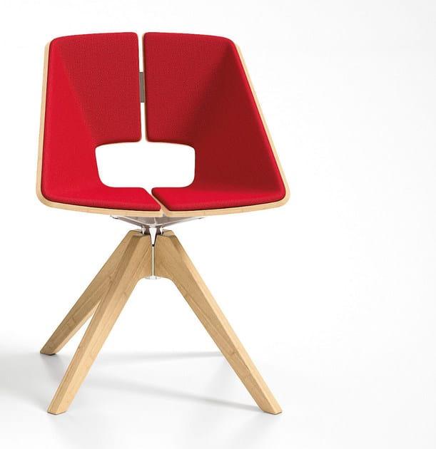 Trestle-based chair HUG | Trestle-based chair - Infiniti