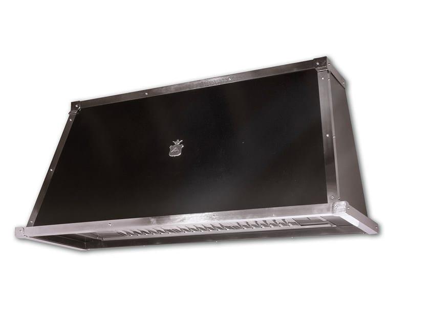 Cappa in acciaio inox ogc002 cappa officine gullo for Cappa acciaio