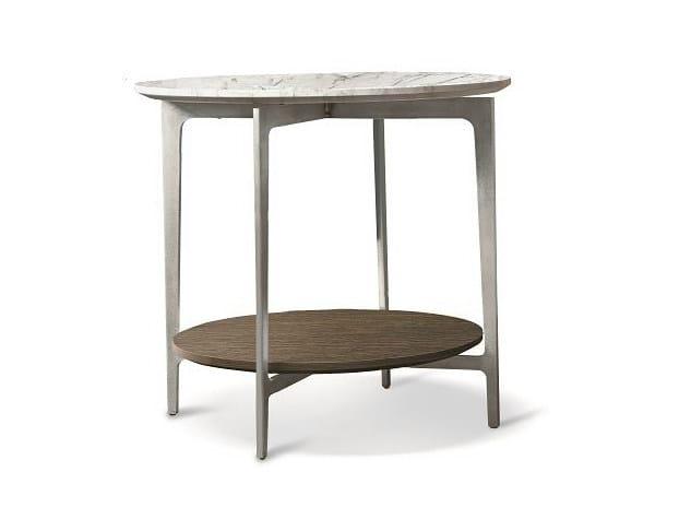 Low round coffee table SAX | Round coffee table - ALIVAR