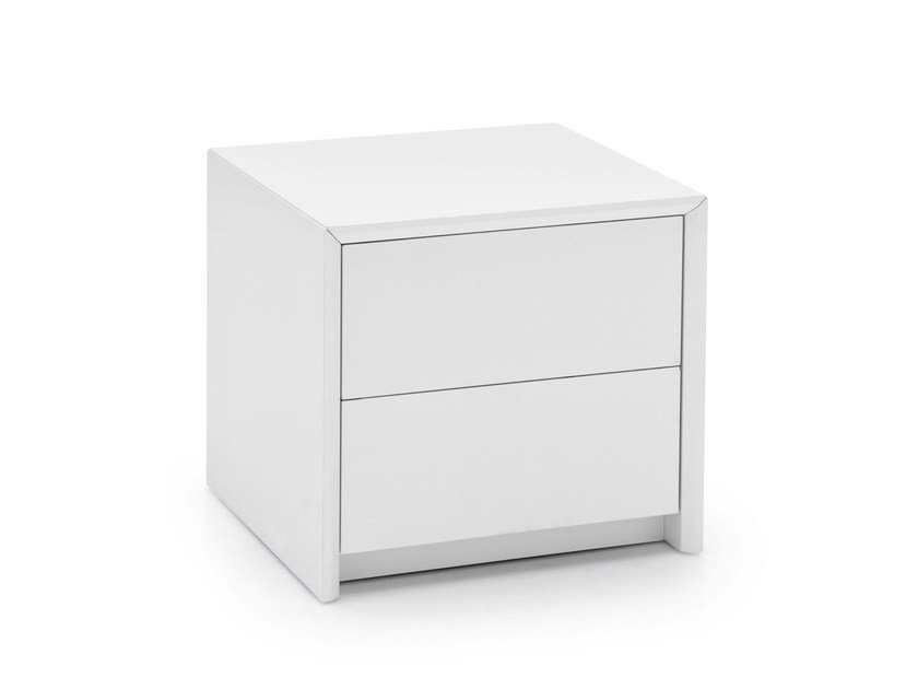 Bedside table with drawers PASSWORD | Bedside table - Calligaris