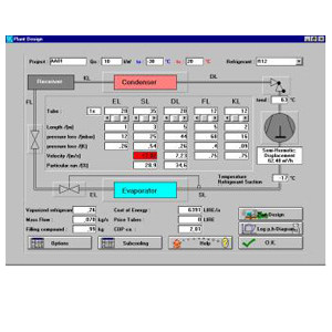 Thermo-refrigeration plantroom design COOLTOOL by ATH ITALIA software