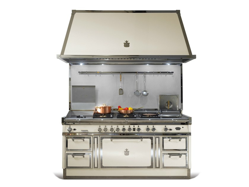 Cucina a libera installazione in acciaio OG188 | Cucina a libera ...