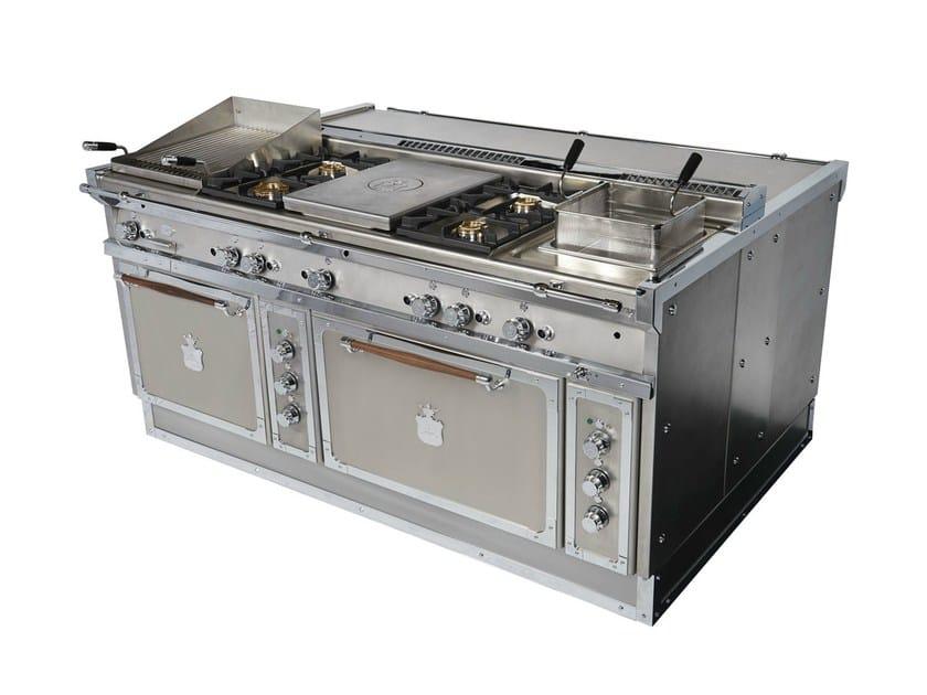Og188f cucina a libera installazione by officine gullo for Cucina libera installazione