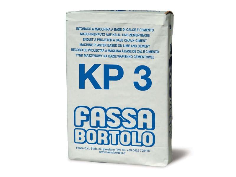 Intonaco di fondo KP 3 - FASSA