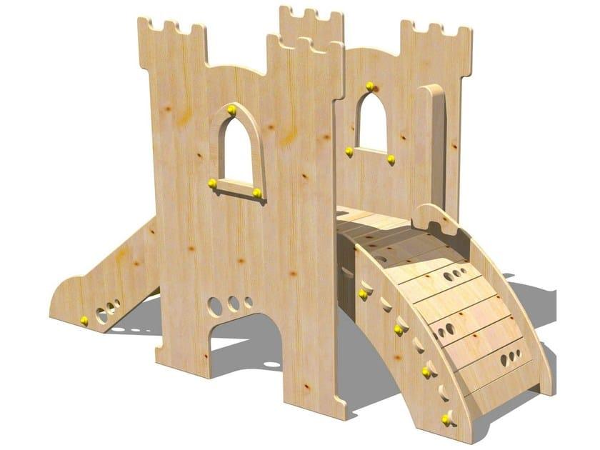 Wooden Slide TORRE PARSIFAL - Legnolandia