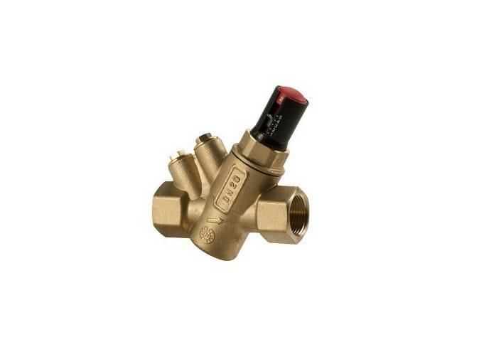 Dynamic balancing valve R206A | Balancing valve - Giacomini