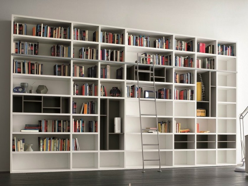 biblioth que ouverte laqu e speed a by dall agnese design. Black Bedroom Furniture Sets. Home Design Ideas