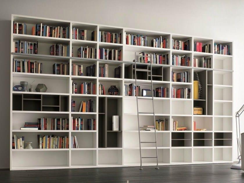 Biblioth que ouverte laqu e speed a by dall agnese design imago design massi - Bibliotheque design laquee ...