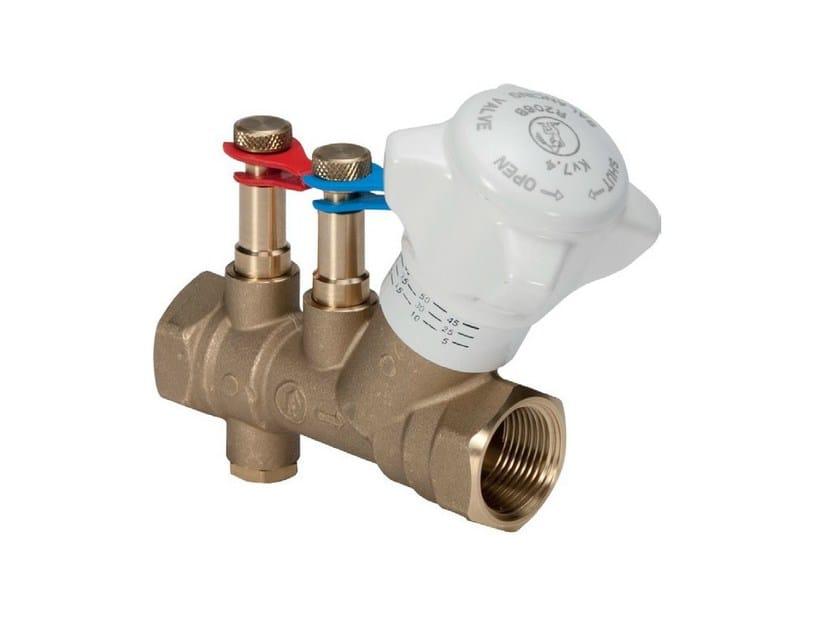 Static balancing valve R206B - Giacomini