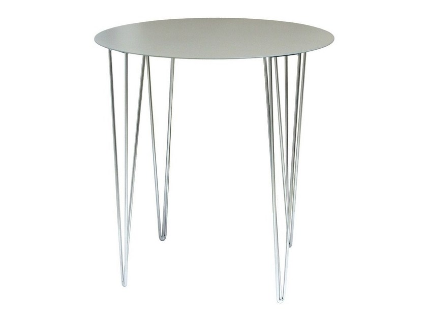 Steel contract table TRIO-4-ITR - Vela Arredamenti