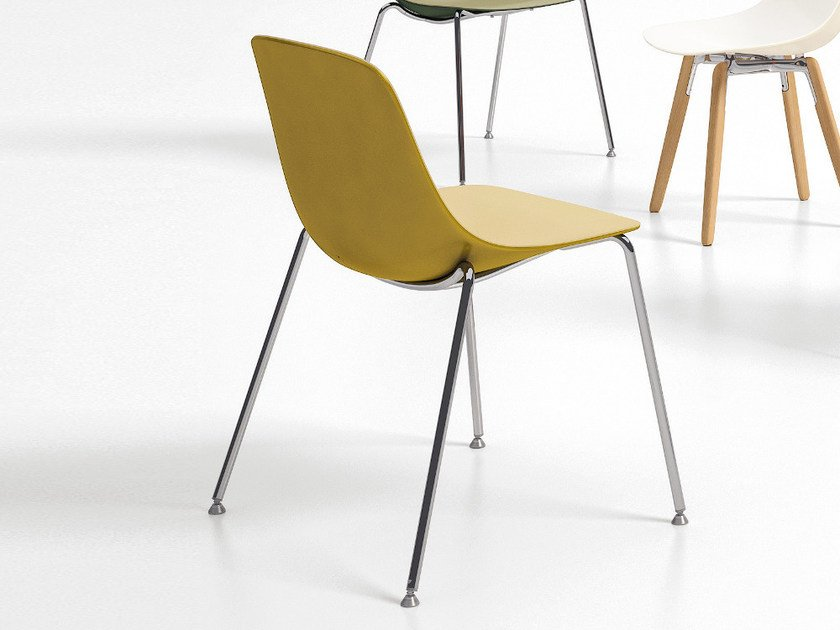 Polypropylene chair PURE LOOP BINUANCE | Chair - Infiniti