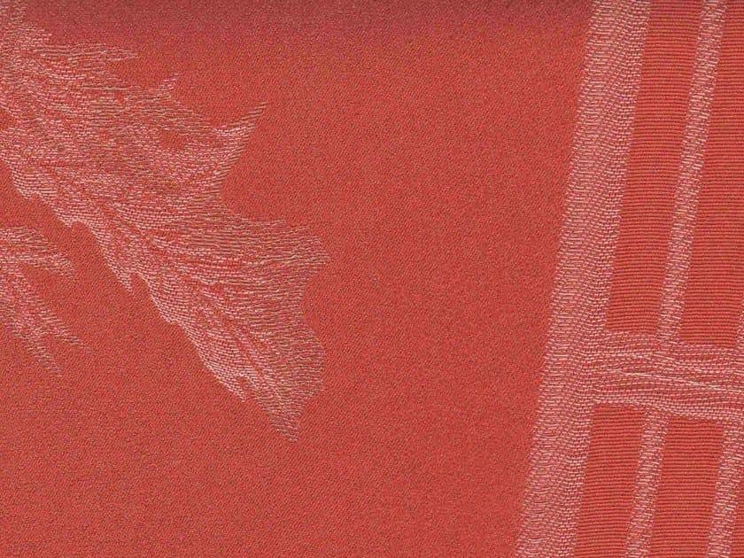 Cotton fabric with graphic pattern COUP DE VENT - KOHRO