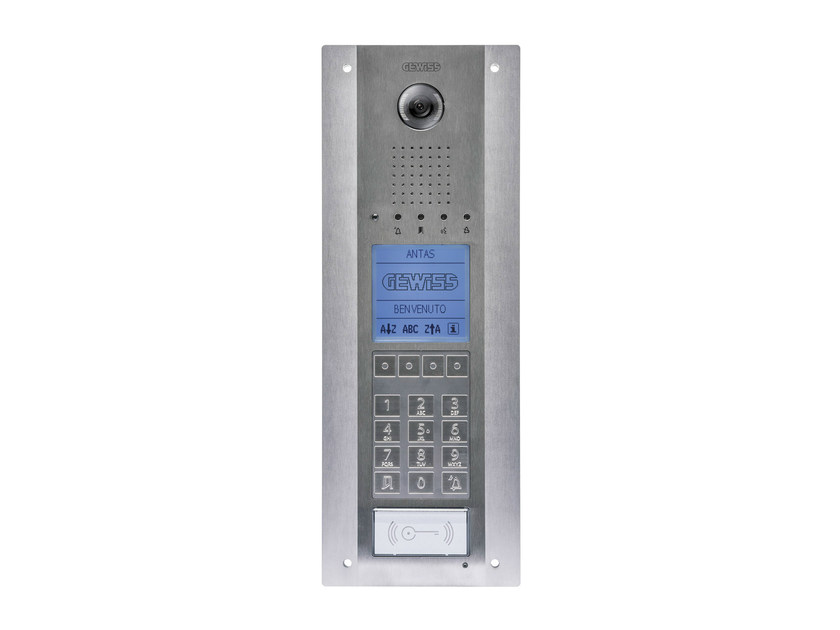 Video entryphone system and equipment ANTAS - GEWISS