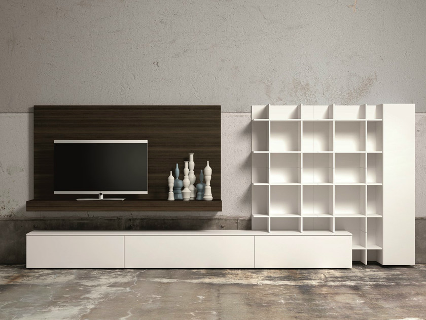Sectional TV wall system SLIM 60 - Dall'Agnese