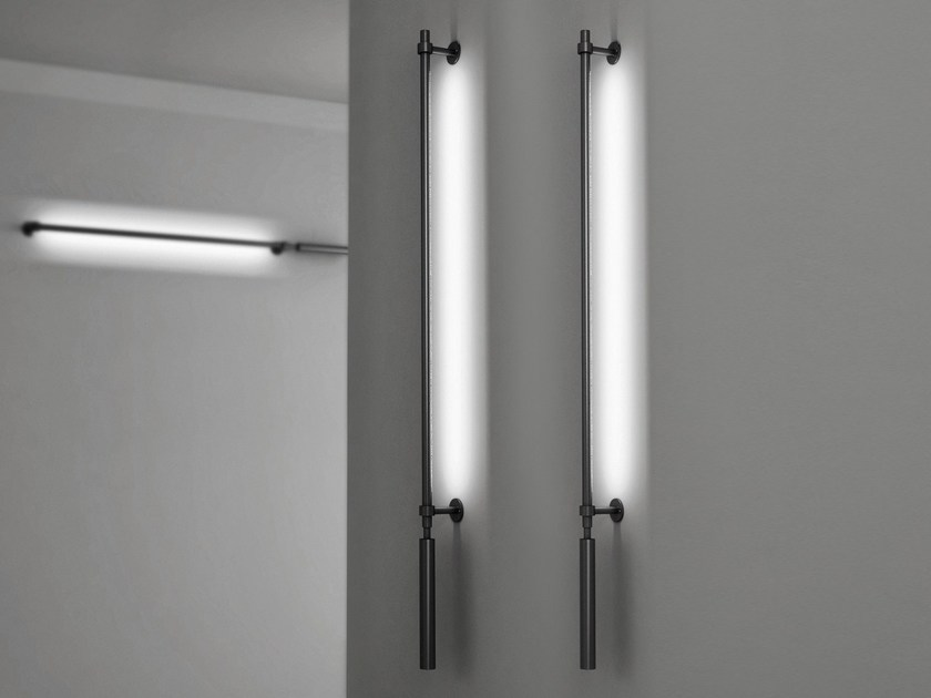 LED indirect light swivel aluminium wall lamp COLIBRÌ | Wall lamp - Martinelli Luce