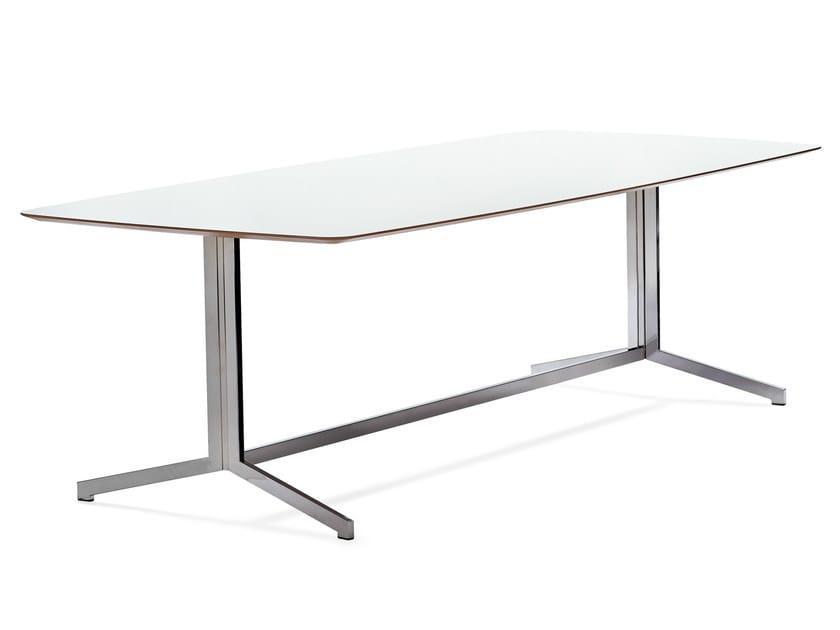 Rectangular meeting table MADISON CONFERENCE - Johanson Design