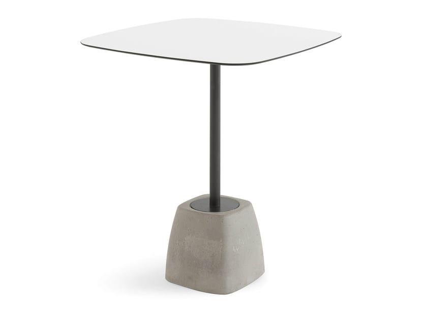 Square high table URBAN-TA - DOMITALIA