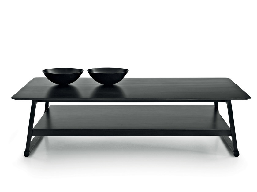 Rectangular oak coffee table RECIPIO '14 | Rectangular coffee table - Maxalto, a brand of B&B Italia Spa