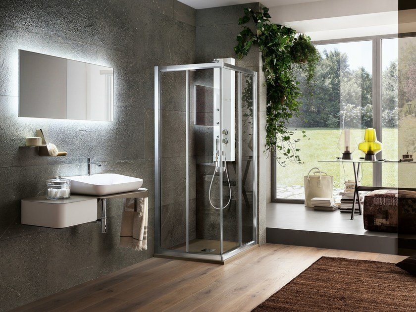 Corner shower cabin VIRGO | Corner shower cabin - ARBLU