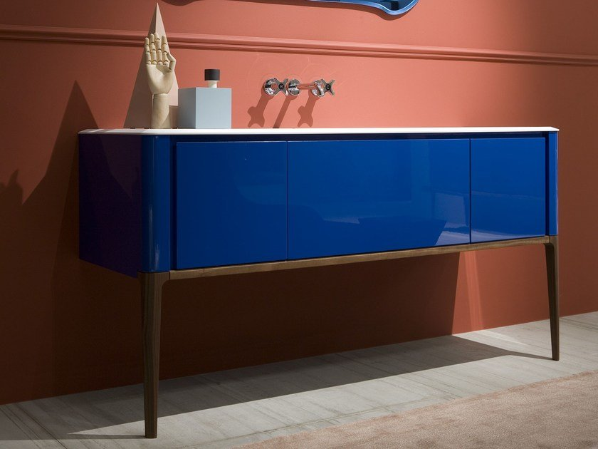 Lacquered single console sink ILBAGNO | Console sink - Antonio Lupi Design®