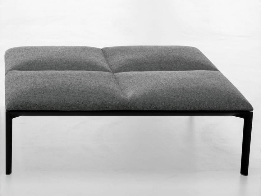 Upholstered fabric pouf ADD | Pouf - Lapalma