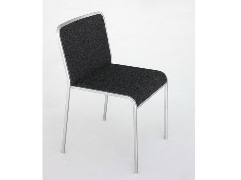 Upholstered fabric chair ARIA | Fabric chair by Lapalma