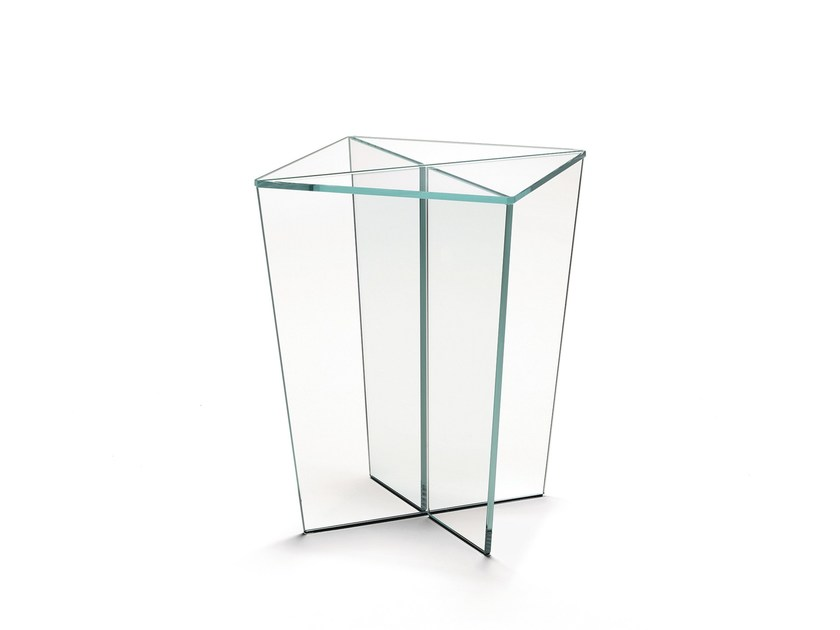 Glass coffee table for living room MIRAGE | Coffee table - T.D. Tonelli Design