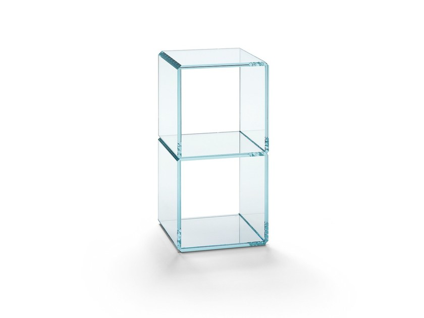 Modular glass coffee table DIGIT | Coffee table - T.D. Tonelli Design