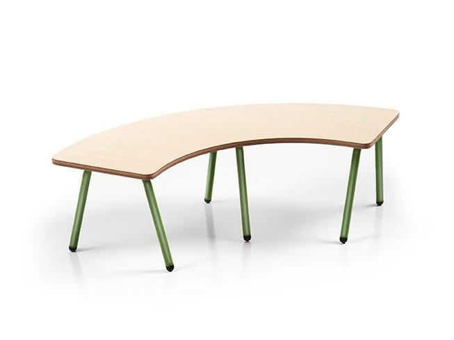 Multi-layer wood kids table OTTAWA | Kids table - Made Design Barcelona