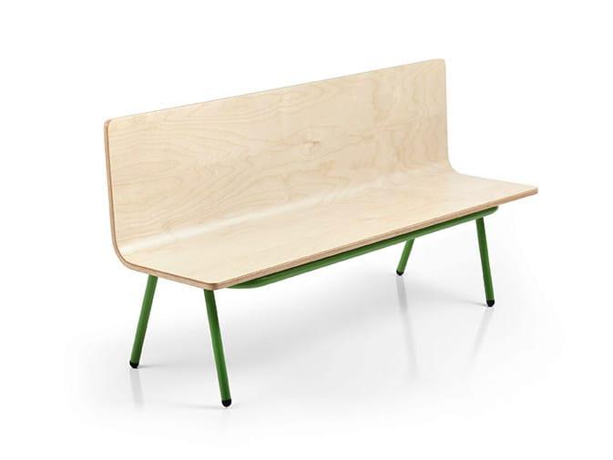 Multi-layer wood Kids bench OTTAWA | Kids bench by Made Design