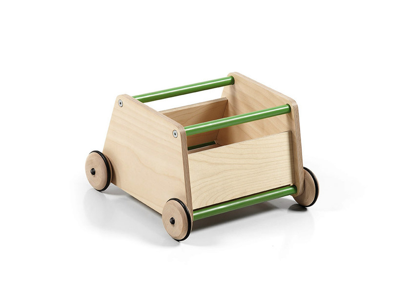 Multi-layer wood toy storage box OTTAWA | Toy storage box by Made Design