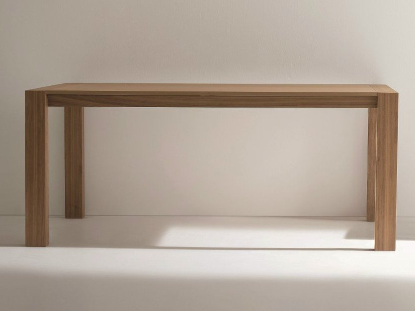Rectangular walnut table RUBINO | Walnut table - Dall'Agnese