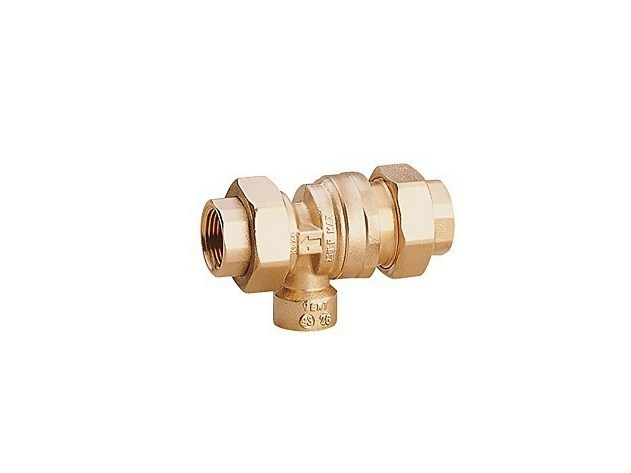 Manual draining hose connection Manual draining hose connection - Giacomini