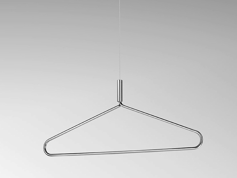 Steel clothes hanger YOKOHAMA by Made Design
