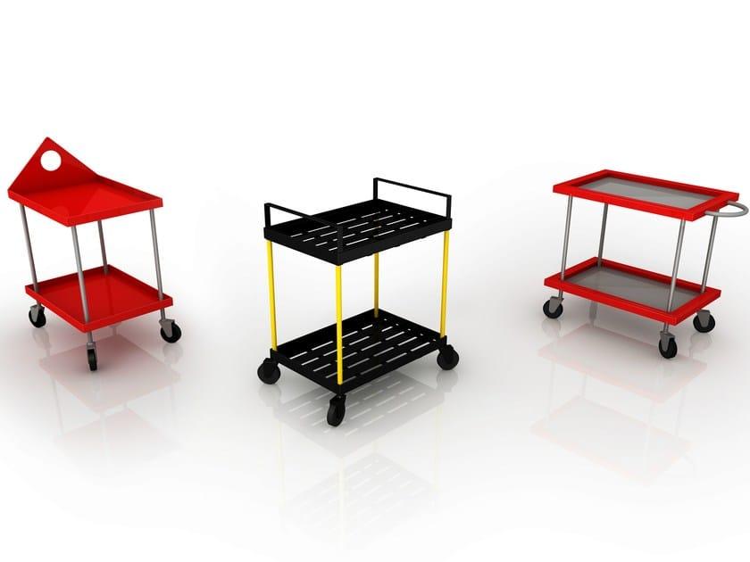 Aluminium trolley FERNAND - altreforme
