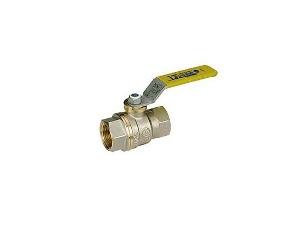 Full port ball valve for domestic gas distribution Full port ball valve - Giacomini