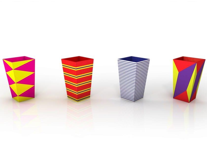 Aluminium vase HENRI by altreforme