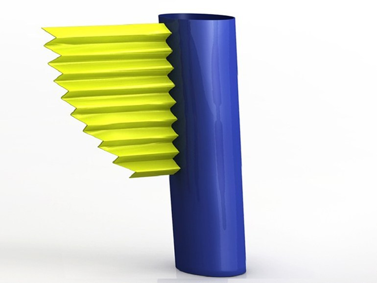 Aluminium vase LA ROTONDE - altreforme
