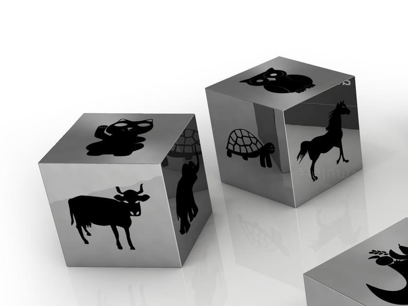 Aluminium decorative object ANIMALI - altreforme