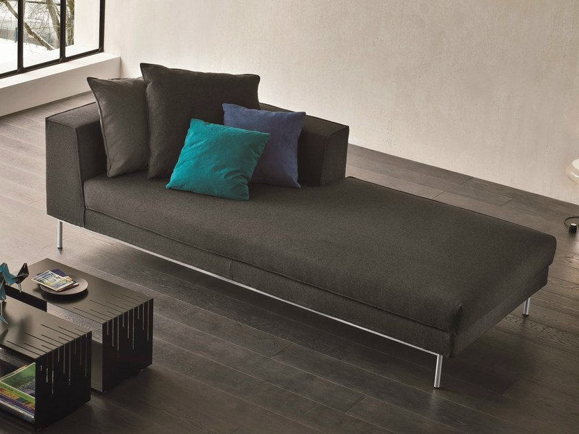 Upholstered fabric day bed FLY   Day bed - Dall'Agnese