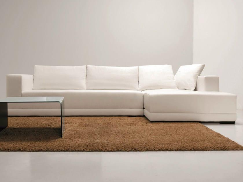 Sectional 3 seater fabric sofa TEOREMA | 3 seater sofa - Dall'Agnese