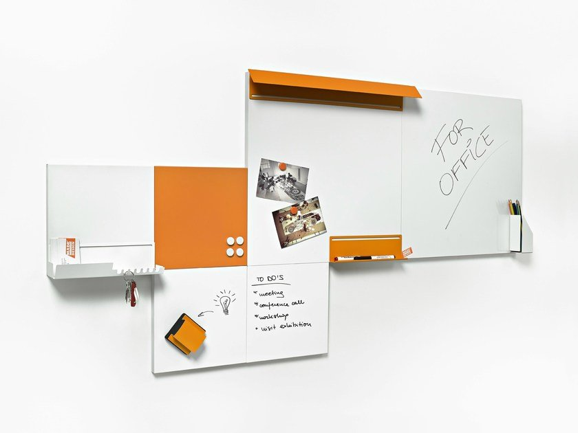 Modular office whiteboard NARA - Made Design Barcelona