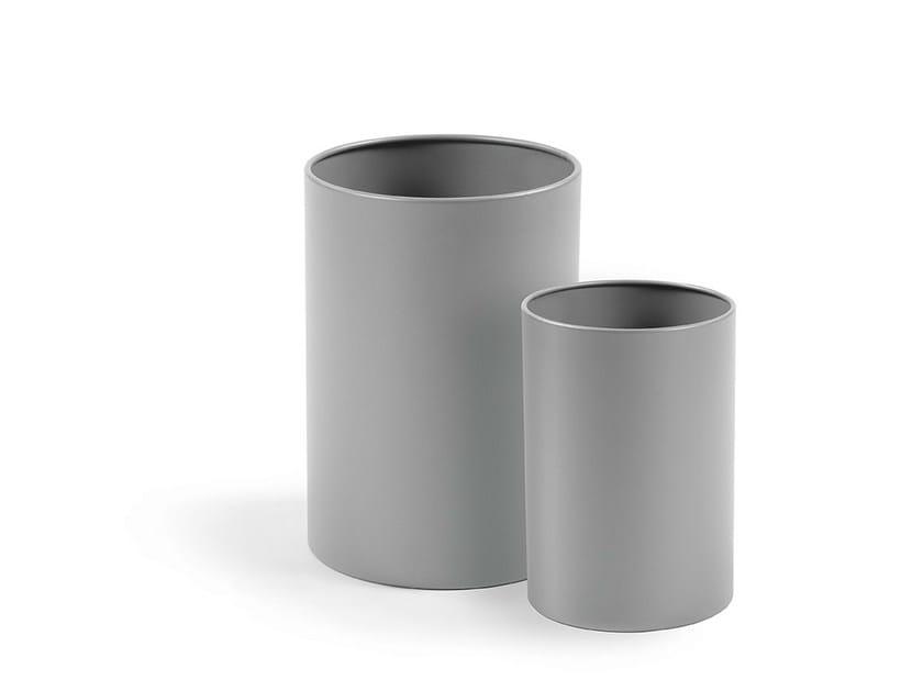 Steel waste paper bin SIDNEY | Waste paper bin - Made Design Barcelona