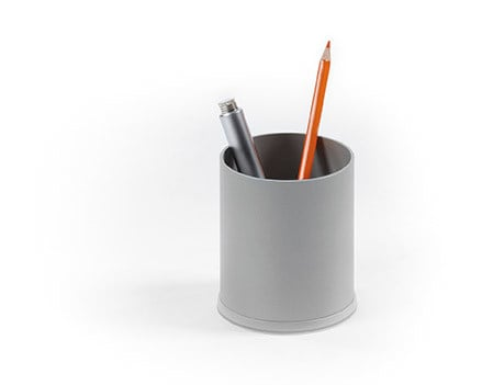 Steel pen holder SIDNEY | Pen holder - Made Design Barcelona