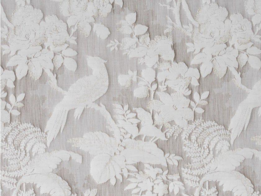 Silk and cotton fabric DARWIN PLAZA - KOHRO
