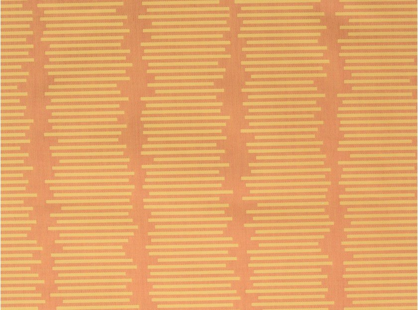Cotton fabric PANAMA STRIPE - KOHRO