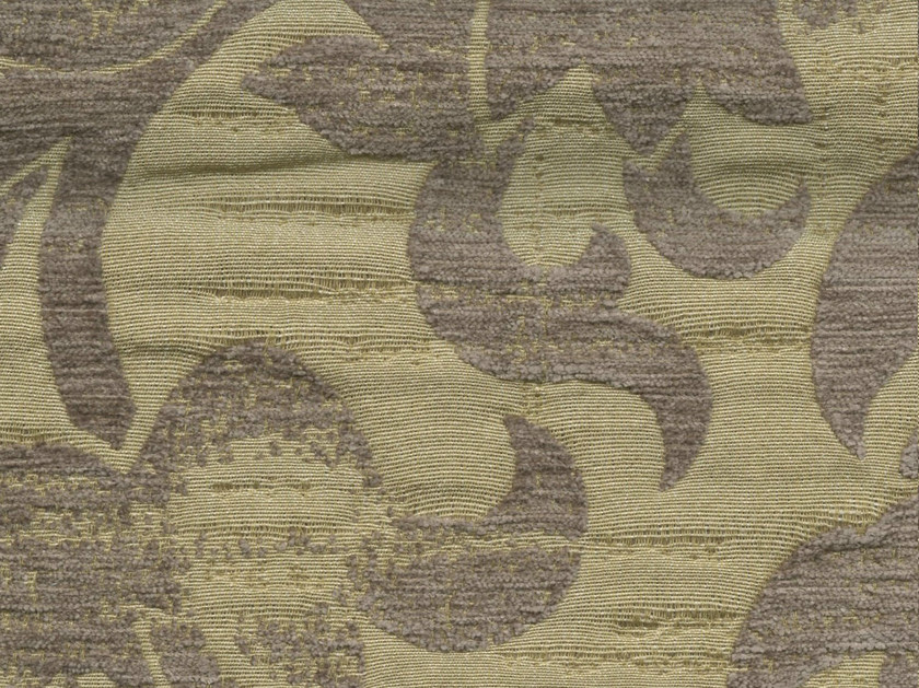 Viscose and cotton fabric with floral pattern GASCOGNE - KOHRO