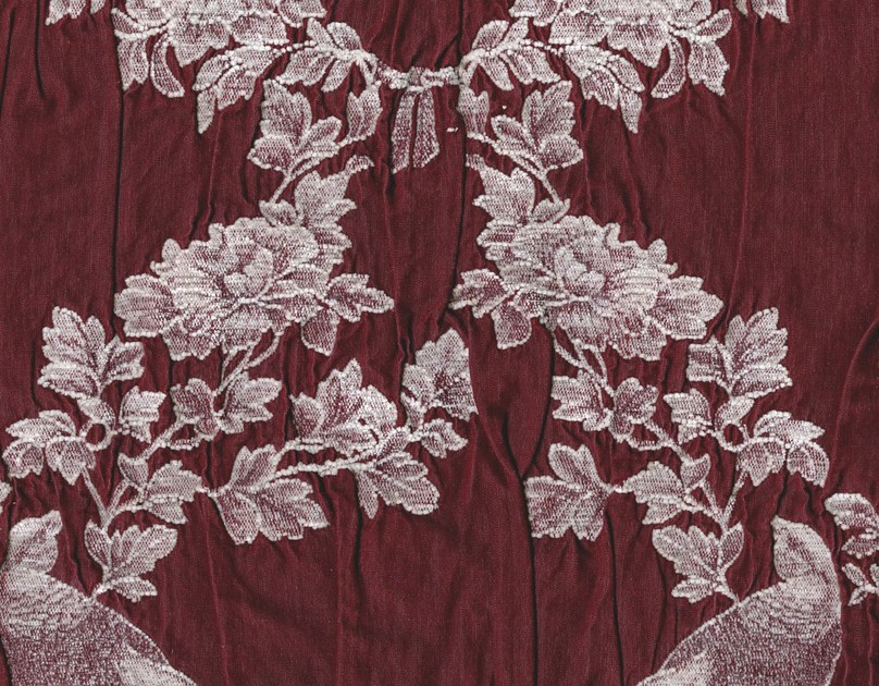 Cotton and viscose fabric with floral pattern COTSWOLDS - KOHRO
