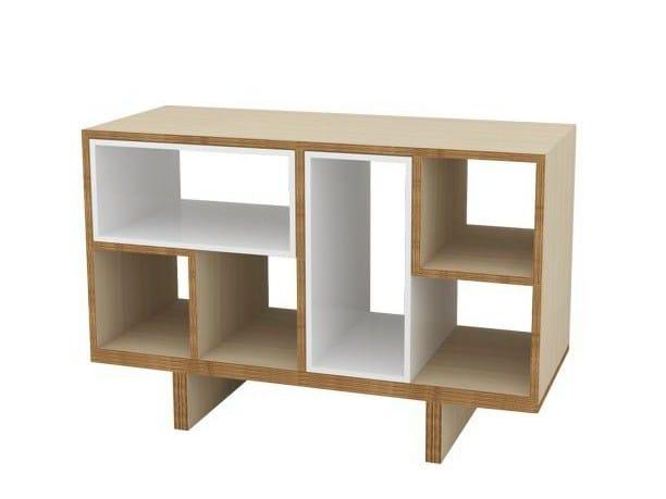 Wooden sideboard MÉLI-MÉLO | Sideboard - MALHERBE EDITION